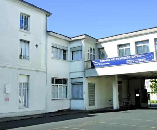 Psychog riatrie centre hospitalier de niort for E leclerc niort centre niort